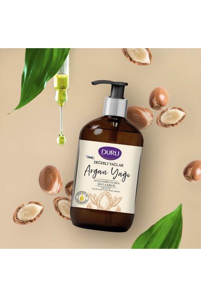 Duru Değerli Yağlar Nemlendiricili Argan Yağı Sıvı Sabun 500 ml