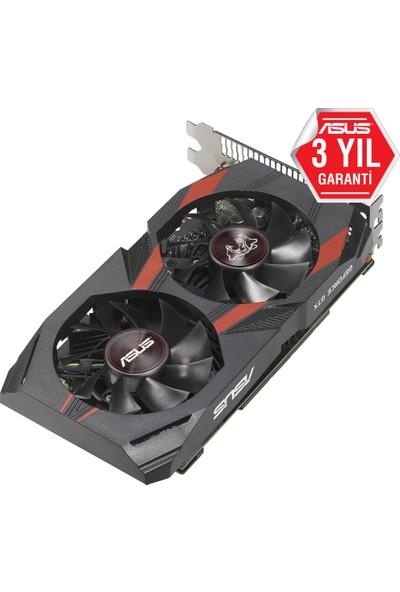 Asus Nvidia Geforce GTX 1050 Ti Cerberus 4GB DDR5(DX12) PCI-E 3.0 Ekran Kartı (CERBERUS-GTX1050TI-O4G)