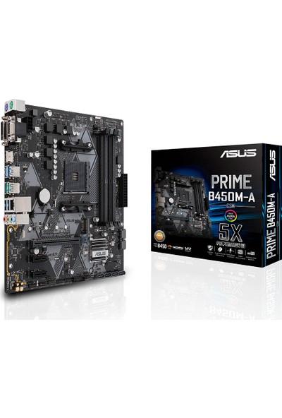 Asus Prime B450M-A/CSM AMD B450 4400MHz DDR4 AM4 mATX Anakart