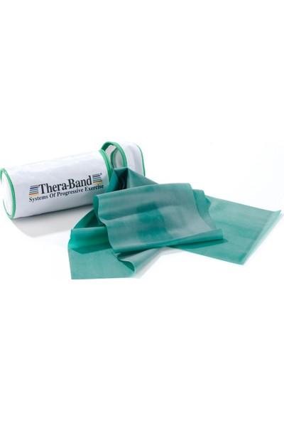 Thera-Band 12194 Çantalı Egzersiz Bandı 2.5 Metre Sert Yeşil