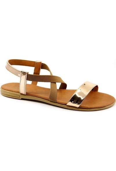 Aubriella Bakır Cilt Kadın Sandalet