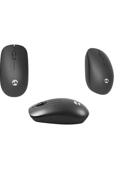 Everest KM-2510 Kablosuz Q Multimedia Klavye + Mouse Set Siyah