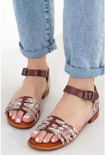 Mammamia Kadın Düz Sandalet