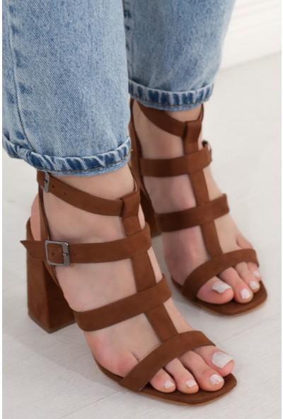 Adım Adım Kadın Topuklu Sandalet