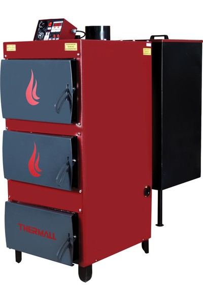 Thermall T-125 Doyk Dilimli Otomatik Yüklemeli Kalorifer Kazanı 125.000 Kcal/h