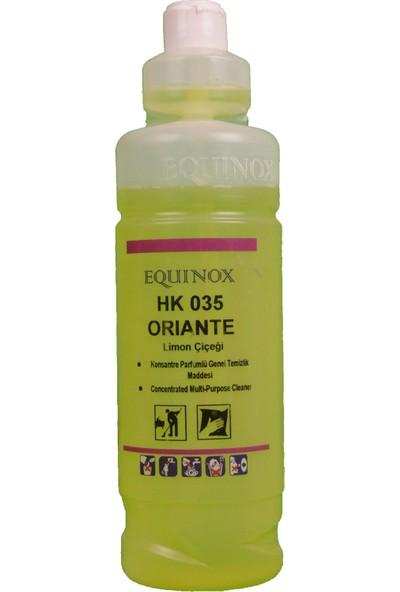 Equinox Oriante Cam Ayna Tv Bilgisayar Yüzey Temizlik Ürünü 1 Lt Limon Çiçeği