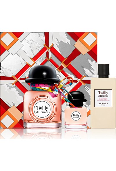 Hermes Twilly D'hermes Edp 85 ml + Twilly D'hermes Edp 7,5 ml + Body Lotion 80 ml