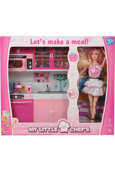 Kayyum Oyuncak My Little Chef's 2'li Mutfak Seti + Bebek