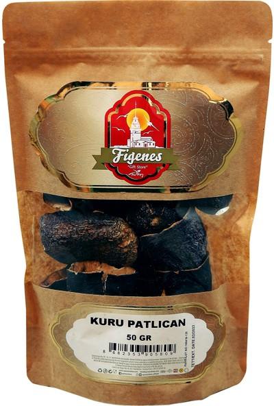 Figenes Kurutulmuş Dolmalık Patlıcan Kraft Paket 50 gr