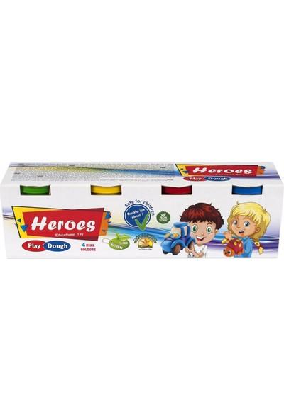 Heroes Dough Oyun Hamuru 4'lü