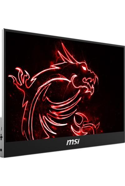 "MSI Optix MAG161V 15.6"" 60Hz 1 ms (Mini HDMI+Type-C) FreeSync Full HD Taşınabilir Oyuncu Monitör"