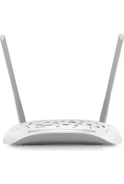 TP-Link TD-W8961N 300Mbps ADSL2 + Modem/Router, 2x5DBi Anten WPS
