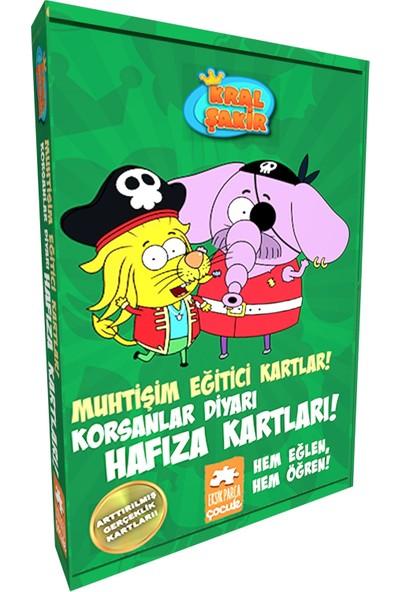 Kral Şakir Muhtişim Eğitici Kartlar! - Korsanlar Diyarı Hafıza Kartları! -Varol Yaşaroğlu