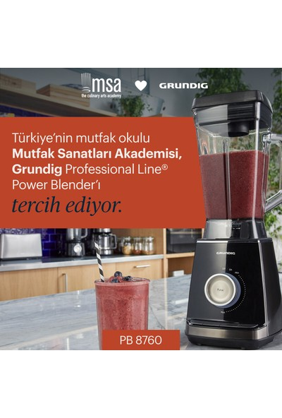 Grundig Power Blender Professional Line PB 8760