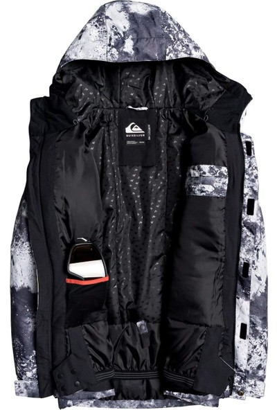 Quıksılver Mission Prin Jk M Snjt Kpv7 Snowboard Ceketi