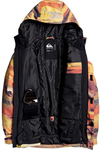 Quıksılver Mission Prin Jk M Snjt Rqj1 Snowboard Ceketi