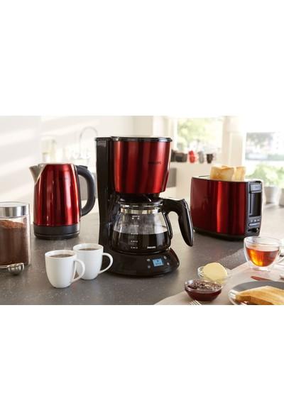 Philips HD7459/61 Kırmızı Filtre Kahve Makinesi