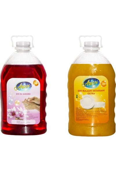 Ariox Sıvı El Sabunu & Sıvı Bulaşık Deterjanı 4 kg
