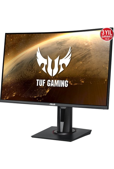 "Asus Tuf Gaming VG27WQ 27"" 165Hz 1ms (HDMI+Display) FreeSync 2K Curved Monitör"