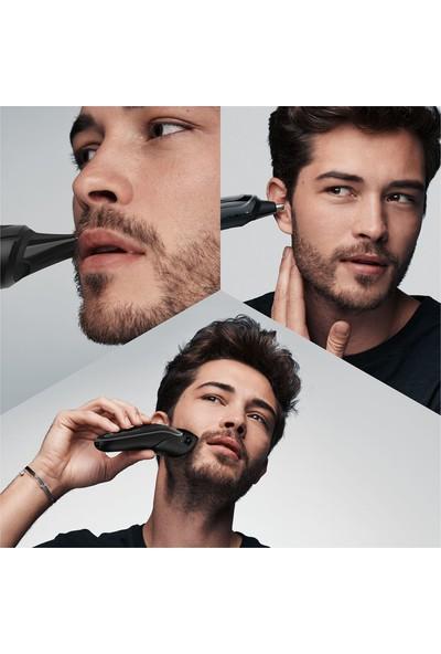 Braun MGK5260 Erkek Bakım Kiti Islak & Kuru 8 in 1 Saç ve Sakal Şekillendirici + Gillette