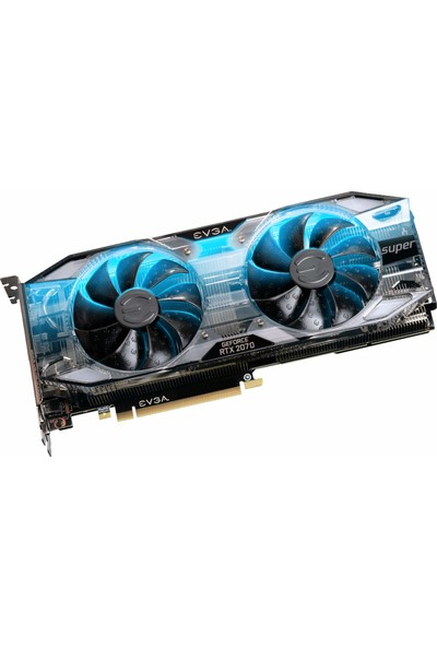 EVGA Gaming GeForce RTX 2070 SUPER XC 8GB 256Bit GDDR6 RGB (DX12) PCI-E 3.0 Ekran Kartı (08G-P4-3172-KR)