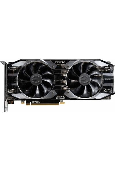 EVGA Gaming GeForce RTX 2060 SUPER XC Ultra OC 8GB 256Bit GDDR6 (DX12) PCI-E 3.0 Ekran Kartı (08G-P4-3163-KR)