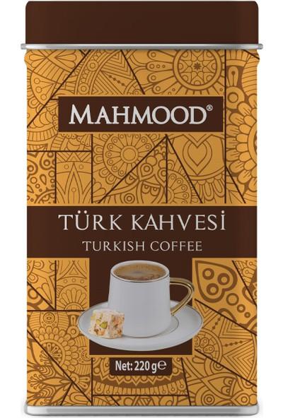 Mahmood Türk Kahvesi Teneke 220 gr