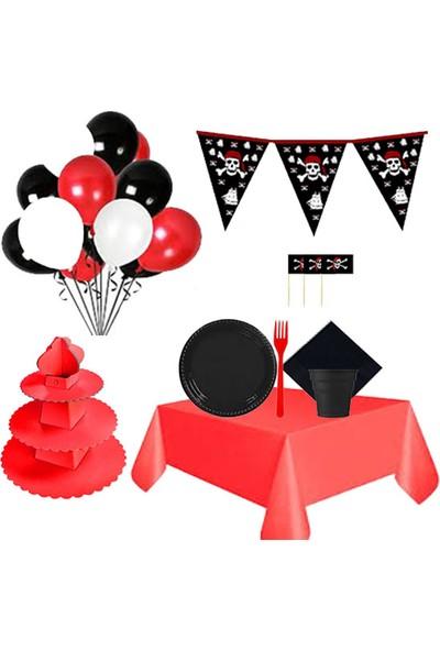 Partylandtr Korsan Temalı Doğum Günü Parti Seti 16 Kişilik