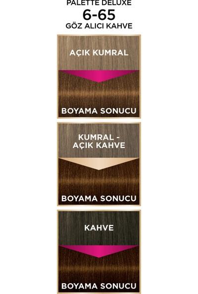 Palette Saç Boyası Deluxe 6-65 Göz Alıcı Kahve