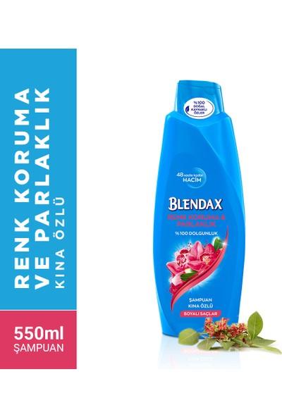 Blendax Kına Özlü Şampuan ve Saç Bakım Kremi 550 ml (Boyalı Saçlar)