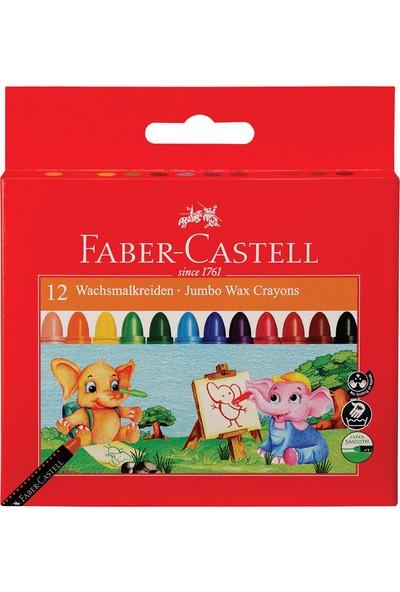 Faber-Castell Süper Yıkanabilir Mum Boya 12R