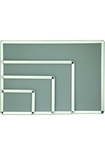 Akyazı 35x50 Display Rondo Köşe 25'lik Reklam Panosu