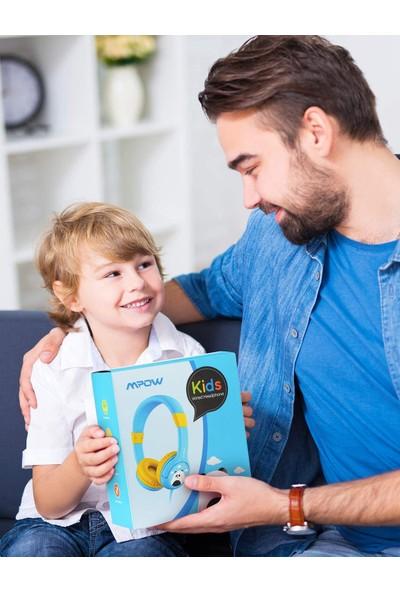 Mpow CH1 Kablolu Çocuk Kulaklığı Mavi BH178AL