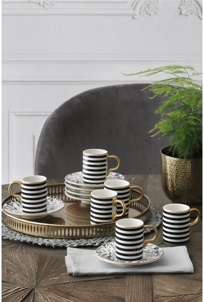 Güral Porselen Bone Atina Kahve Fincan Takımı GBSATN12KT2395554