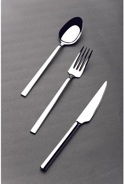 Lugga Doğa 42 Parça 6 Kişilik Çatal Kaşık Bıçak Seti