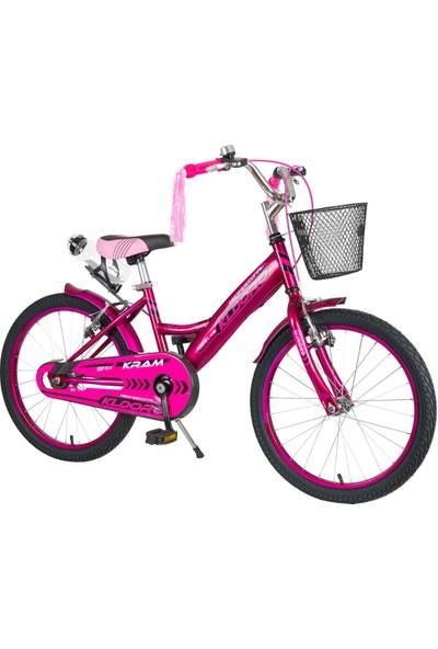 Kldoro KD-017 Siyah Lastik 20 Jant Bisiklet Kız Çocuk Bisikleti