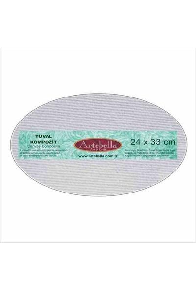 Artebella Tuval Kompozit Elips 24 x 33 cm