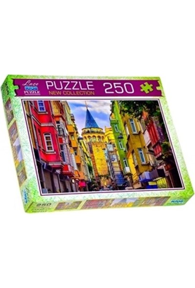 Laço Kids Galata Kulesi 250 Parça Puzzle