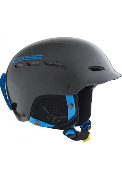 Cebe Dusk R Ad Siyah Mavi 58-62 L Kayak ve Snowboard Kaskı
