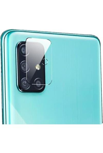 Happyshop Samsung Galaxy A51 Kamera Koruma Ekran Koruyucu Şeffaf