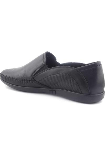 Zirve 270011 Hakiki Erkek Ayakkabı Siyah Analin