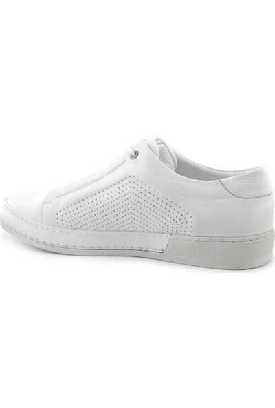 Togga 1885 Hakiki Deri Erkek Ayakkabı Beyaz
