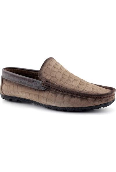Tkn 095 Erkek Casual Ayakkabı Kum Süet