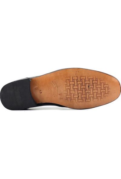 Suphi Şeker 57 Hakiki Deri Erkek Günlük Ayakkabı Siyah