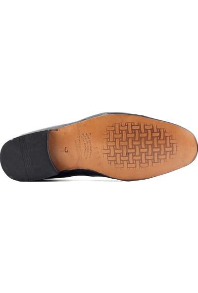 Suphi Şeker 4059 Hakiki Deri Erkek Günlük Ayakkabı Siyah