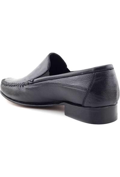 Suphi Şeker 333 Hakiki Deri Erkek Günlük Ayakkabı Siyah