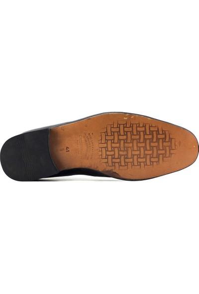 Suphi Şeker 099 Hakiki Deri Erkek Klasik Ayakkabı Siyah