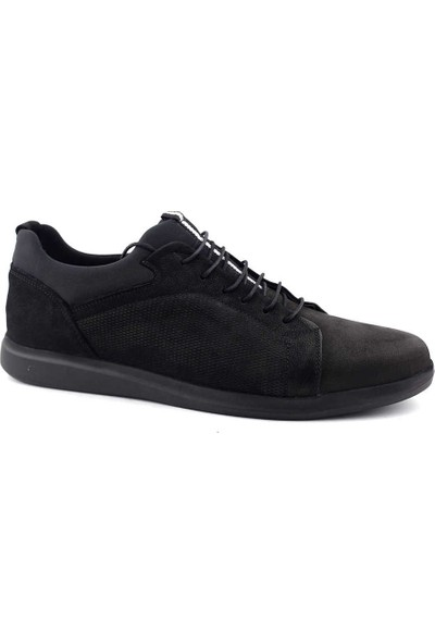 Secure 1913 Erkek Ayakkabı Siyah Nubuk