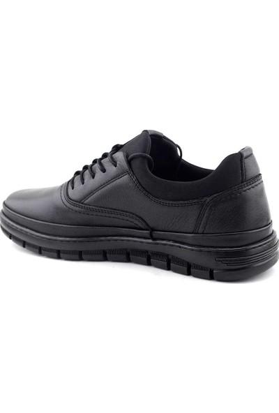 Secure 1903 Hakiki Deri Erkek Ayakkabı Siyah