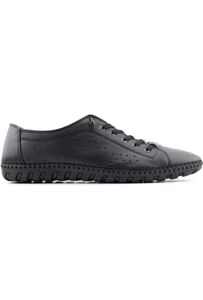 Secure 1710 Hakiki Deri Erkek Ayakkabı Siyah